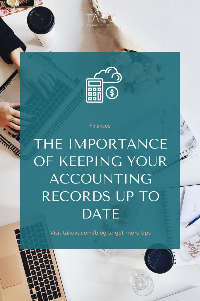 The importance of keeping your accounting records up to date - pinterest