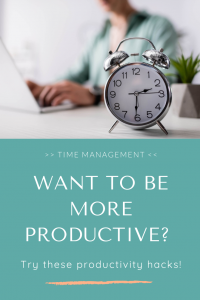 Want to be more productive? Try these productivity hacks