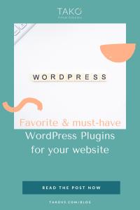 Favorite must-have WordPress Plugins