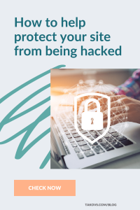 How to help protect your site from being hacked