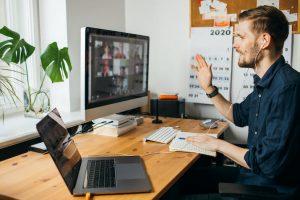 Mind over matter – adjusting to remote work